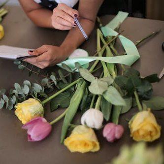 caja de flores a medida